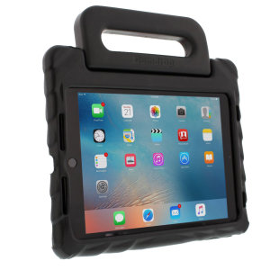The FoamTech Case in black from Gumdrop for the iPad Pro 9.7 / Air 2 features a form fitted foam construction with a built in handle and stand, allowing you to keep your precious new iPad safe and secure at all times.