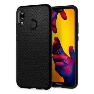 The Spigen Liquid Air in matte black is a TPU lightweight protective case. Spigen's flexible and elastic material reduces the thickness of the case while providing shock absorption and a comfortable grip for your Huawei P20 Lite.