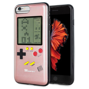 Transform your iPhone 6 Plus into a classic games console with this Retro Game Case by SuperSpot. Featuring an original Game Boy styled design, this case in rose gold will keep you entertained for hours while offering excellent protection.
