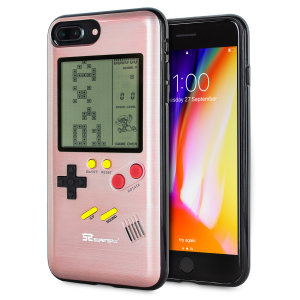 Transform your iPhone 8 Plus into a classic games console with this Retro Game Case by SuperSpot. Featuring an original Game Boy styled design, this case in rose gold will keep you entertained for hours while offering excellent protection.