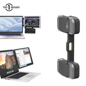 Have the ultimate multi-monitor setup with the Mountie+ from Ten One Design. Clip your tablet or smartphone on to your laptop for seamless multi-tasking and watch films, browse the web or even video call simultaneously.