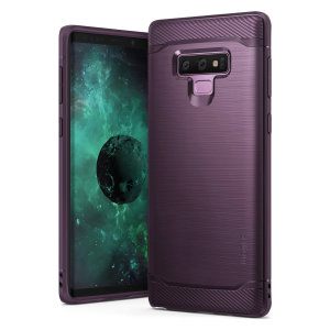 Provide your Samsung Galaxy Note 9 with sleek, yet heavy duty protection and premium brushed metal look offering Ringke Onyx case. The precision-cut design and anti-slip finish will preserve the aesthetic and offer a great comfort whilst using Note 9.