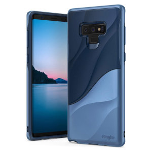 Protect the back and sides of your Samsung Galaxy Note 9 with this incredibly dual-layered Wave case from Ringke. Featuring an abstract, artistic curve design to enhance the aesthetic of your device.