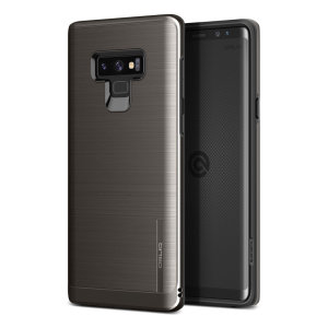 Protect your Samsung Galaxy Note 9 with this ultra slim case in Black Titanium, which provides stunning looks and a substantial full body protection all in an attractive dual layer design.