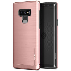 Protect your Samsung Galaxy Note 9 with this ultra slim case in Rose Gold, which provides stunning looks and a substantial full body protection all in an attractive dual layer design.