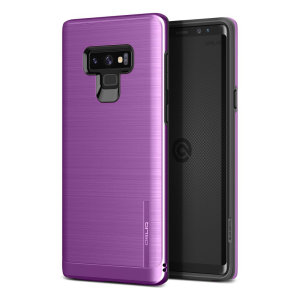 Protect your Samsung Galaxy Note 9 with this ultra slim case in lilac purple, which provides stunning looks and a substantial full body protection all in an attractive dual layer design.