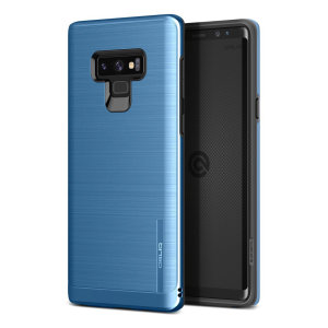 Protect your Samsung Galaxy Note 9 with this ultra slim case in coral blue, which provides stunning looks and a substantial full body protection all in an attractive dual layer design.