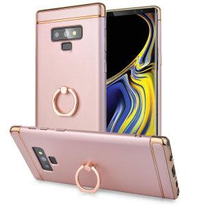 Deze XRing-case van Olixar is speciaal gemaakt voor de Samsung Galaxy Note 9 en biedt uitstekende bescherming en een handige vingerlus om je telefoon in de hand te houden, of het nu gaat om een val of een poging tot diefstal.