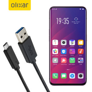 Make sure your Oppo Find X is always fully charged and synced with this compatible USB 3.1 Type-C Male To USB 3.0 Male Cable. You can use this cable with a USB wall charger or through your desktop or laptop.