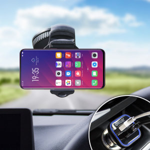 Hold your phone safely in your car with this fully adjustable DriveTime car holder for your Oppo Find X.