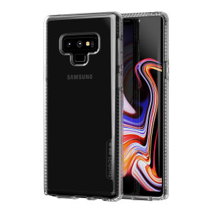 Tech21 Pure Clear case allows you to flaunt the natural beauty of your Samsung Galaxy Note9, whilst keeping it well protected from scratches, bumps and drops of up to 10ft. It also offers an ulta-thin design, which looks good in any setting.