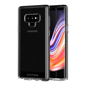 Tech21 Evo Check case for Samsung Galaxy Note 9 features three layers of ultimate protection against scratches, bumps and drops. Despite being ultra-thin and lightweight, the case protects your device from drops of up to 12ft (3.66m)!