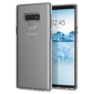 Durable and lightweight, the Spigen Liquid Crystal series for the Samsung Galaxy Note 9 offers premium protection in a slim, stylish package. Carefully designed, the Liquid Crystal case is form-fitted for a perfect fit.