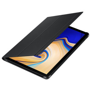 Keep your Samsung Galaxy Tab S4 protected from damage with this official black Samsung book cover with integrated multi-level stand.