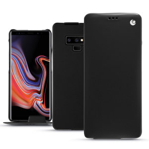 Keep your Samsung Galaxy Note 9 perfectly well protected from damage with this high quality, beautifully hand-crafted genuine premium leather flip case from Noreve. Lightweight, robust and fashionable.