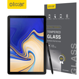 This ultra-thin tempered glass screen protector for the Samsung Galaxy Tab S4 from Olixar offers toughness, high visibility and sensitivity all in one package.