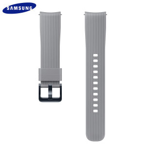 Treat your brand new Samsung Galaxy Watch with the ultra-high quality silicone strap in grey. Comfortable, durable and stylish, this 20mm strap is the perfect way to personalise your Samsung Galaxy Watch.