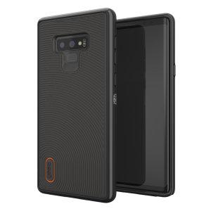 Das GEAR4 Battersea Samsung Galaxy Note 9 Case ist ein stilvolles und dennoch schützendes Etui für das Samsung Galaxy Note 9, das sowohl Stoßdämpfung als auch Stoßdämpfung bietet.