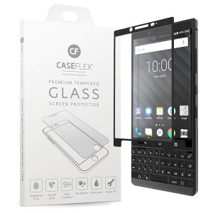 Protégez l'écran de votre BlackBerry KEY2 à l'aide de la protection d'écran en verre trempé Caseflex. Une fois appliquée, celle-ci offre une grande robuste à l'écran de votre smartphone, une excellente clarté et une réponse tactile immédiate.
