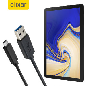 Make sure your Samsung Galaxy Tab S4 is always fully charged and synced with this compatible USB 3.1 Type-C Male To USB 3.0 Male Cable. You can use this cable with a USB wall charger or through your desktop or laptop.