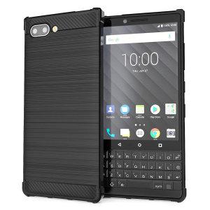 Robuste, flexible et dotée d'un superbe design effet fibre de carbone noir mat, la coque Caseflex protège comme il se doit votre BlackBerry KEY2 au quotidien. Sa finition métal brossé de qualité supérieur donne offre une touche élégante à votre appareil.