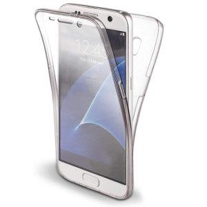 Olixar FlexiCover Full Body Samsung Galaxy S7 Gel Case - Transparent