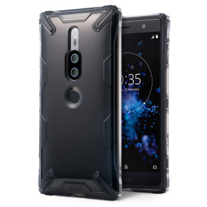 Protect the back and sides of your Sony Xperia XZ2 Premium with this incredibly durable Air X Case in smoke black by Ringke. With added shock protection, your phone will be protected against drops, bumps and knocks.