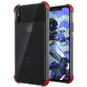 The Covert2 protective bumper case in red from Ghostek provides your iPhone XS Max with fantastic protection, whilst highlighting its superb design. Reinforced corners and provide extra drop protection for such a slim case.