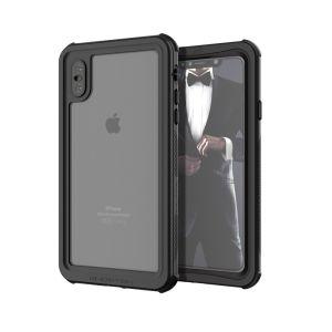 Bescherm je kostbare iPhone XS Max op zowel het land als op zee met de extreem sterke, maar toch ongelooflijk stijlvolle zeewaardige waterdichte hoes van Ghostek. Bescherm uw smartphone tot een diepte van maximaal 1 meter gedurende maximaal 30 minuten.