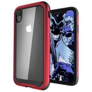 Equip your iPhone XR with the most extreme and durable protection around! The red Ghostek Atomic provides rugged drop and scratch protection whilst keeping the phone slim.