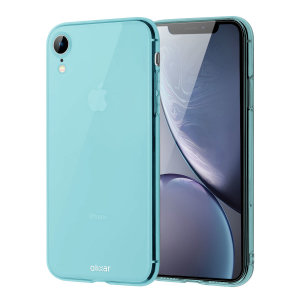 Custom moulded for the iPhone XR, this blue FlexiShield gel case from Olixar provides excellent protection against damage as well as a slimline fit for added convenience.