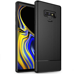 badb6404095 Olixar Carbon Fibre Samsung Galaxy Note 9 Case - Black