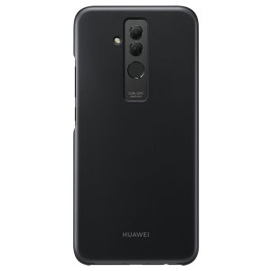 This official Huawei protective case in black for Mate 20 Lite offers excellent protection while maintaining your device's sleek, elegant lines. Reinforced corners provide extra shock absorption.