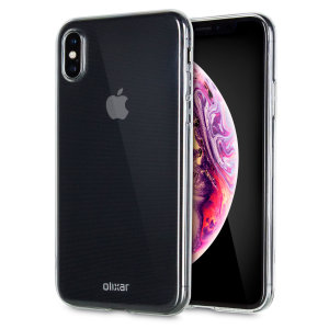 This ultra-thin 100% transparent gel case from Olixar provides a very slim fitting design, which adds no additional bulk to your iPhone XS Max. Offering durable protection against damage, while revealing the beauty of your phone from within.