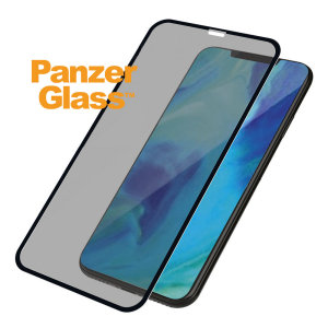 PanzerGlass iPhone XS Max Case Friendly Privacy Glass Screen Protector