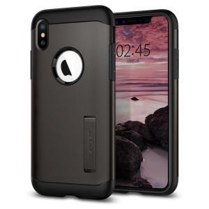 La Slim Armor para el iPhone XS es realmente una funda que absorbe impactos, perfecta para proteger el dispositivo del uso diario.