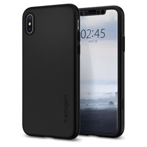 Durable and non-slip material coated, the Spigen Thin Fit series case and Glass Screen Protector for the iPhone XS offers premium 360 degree protection for your shiny new handset, all in a slim fitting, lightweight and stylish design.
