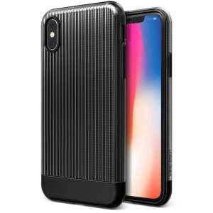 Protect your iPhone XS with this precisely designed and durable case from VRS Design. Combining gloss with matte, the polycarbonate shell features a slim design with precise cut-outs for your phone's ports.