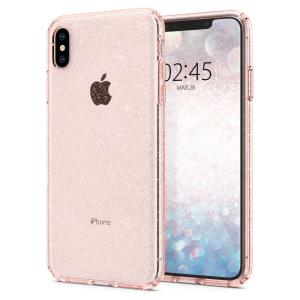 Durable and lightweight, the Spigen Liquid Crystal Glitter series for the iPhone XS Max offers premium protection in a slim, form-fitting, stylish package with a sparkling Rose Quartz crystal pattern to accentuate your phone's own dynamic beauty.