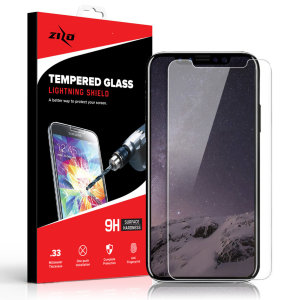 Protect all of your iPhone XS Max's beautiful display  of edge to edge tempered glass screen protectors from Zizo. With superb clarity and a durable construction this is the perfect way to keep your screen looking good.