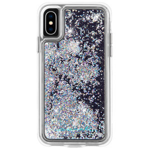 The Waterfall case provides military level protection from its two-layer structure, while boasting a beautiful Iridescent design inspired by current runway trends. This case will make your iPhone pop, while still remaining fully functional and protected.