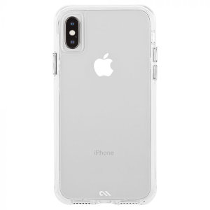 Ultra slim protection for your iPhone XS with the Case-Mate Tough Clear case. Featuring an all-in-one design and drop tested up to 10 feet, this case provides reliable protection and a minimalist look that shows off every aspect of the new iPhone XS.
