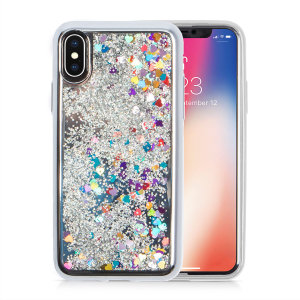 Ultra slim protection for your iPhone XS Max with the Zizo Glitter Star case in silver. Featuring dual layer design and an eye-catching look, this case is built protect your phone against drops and impacts.