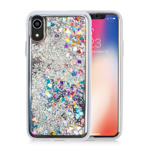 Ultra slim protection for your iPhone XR with the Zizo Glitter Star case in silver. Featuring dual layer design and an eye-catching look, this case is built protect your phone against drops and impacts.