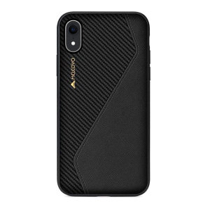 The handmade, premium Racing I case by Meleovo integrates a TPU edge, PC housing and leather exterior to provide your iPhone XR with shock absorbing protection and an exquisite look and feel. Featuring a built-in plate for magnetic car holders.