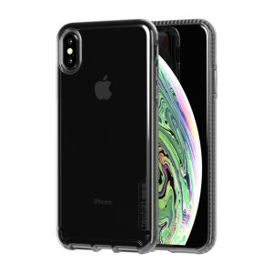 Protect your iPhone XS Max and keep it looking as good as new with the Pure Tint case in carbon by Tech21. Despite being ultra-thin and lightweight, the case protects your device from drops of up to 10 feet!