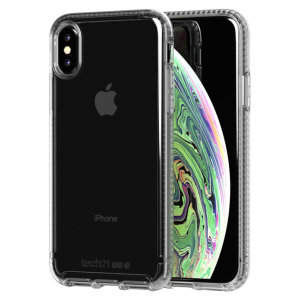 Tech21 Pure Clear case allows you to flaunt the natural beauty of your iPhone XS, while keeping it well protected from scratches, bumps and drops of up to 10ft. It also offers an ulta-thin and lightweight design, which looks good in any setting.