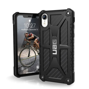 The Urban Armour Gear Monarch in carbon fibre for the iPhone XR is quite possibly the king of protective cases. With 5 layers of premium protection and the finest materials, your iPhone XR is safe, secure and in some style too.