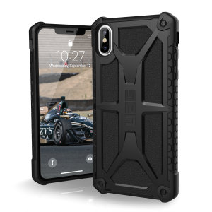 The Urban Armour Gear Monarch in black for the iPhone XS Max is quite possibly the king of protective cases. With 5 layers of premium protection and the finest materials, your iPhone XS Max is safe, secure and in some style too.