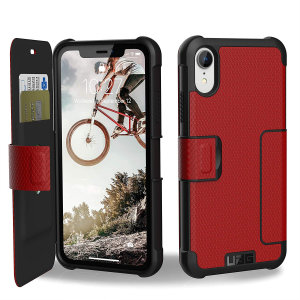 Equip your iPhone XR with extreme, military-grade protection and storage for cards with the Metropolis Rugged Wallet case in magma from UAG. Impact and water resistant this is the ideal way of protecting your phone and providing card storage.